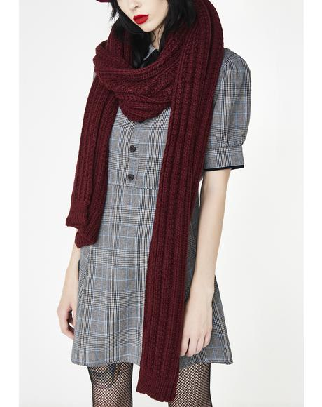 Cozy Chic Knit Scarf