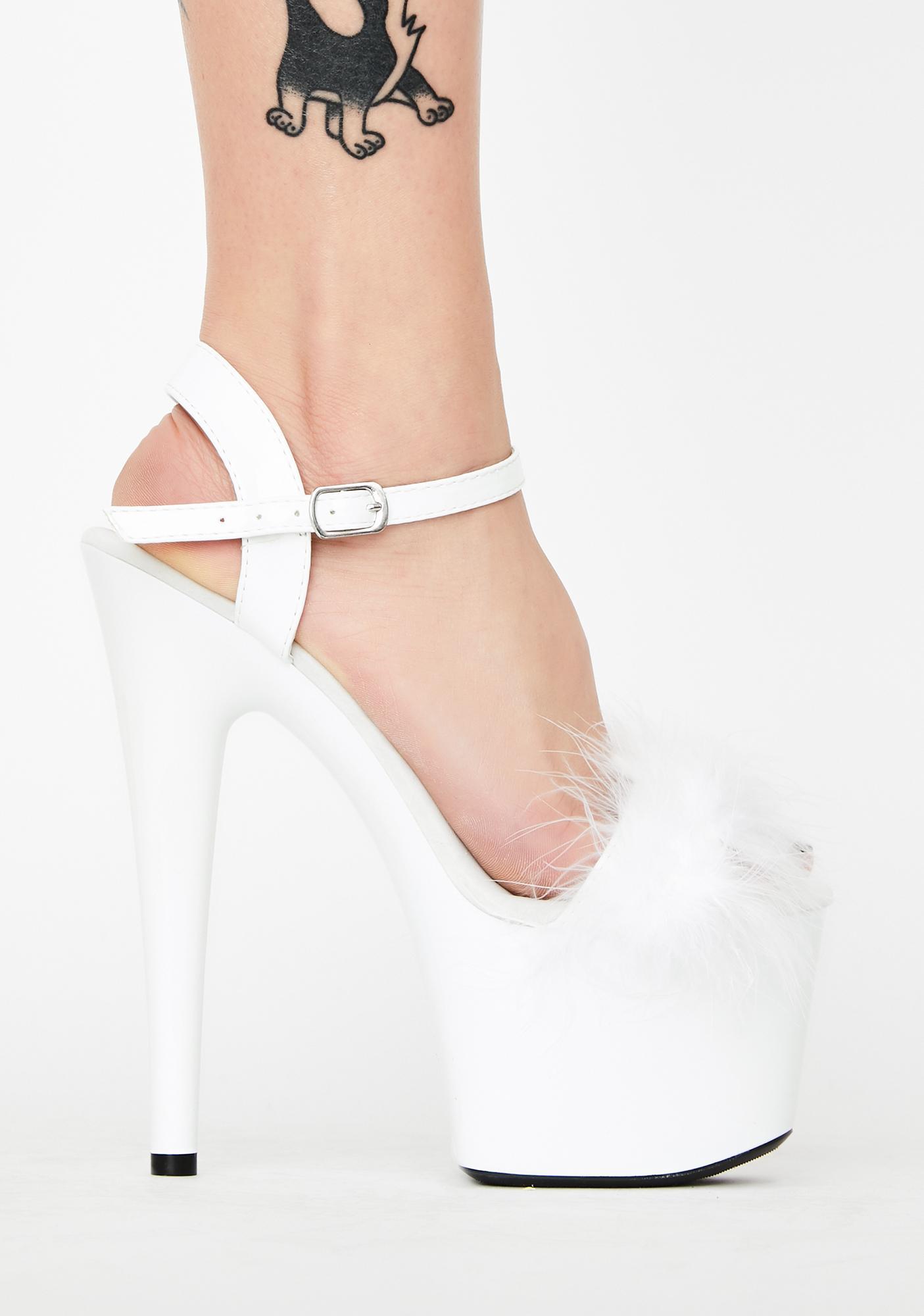 Purely Heartless Bish Platform Heels
