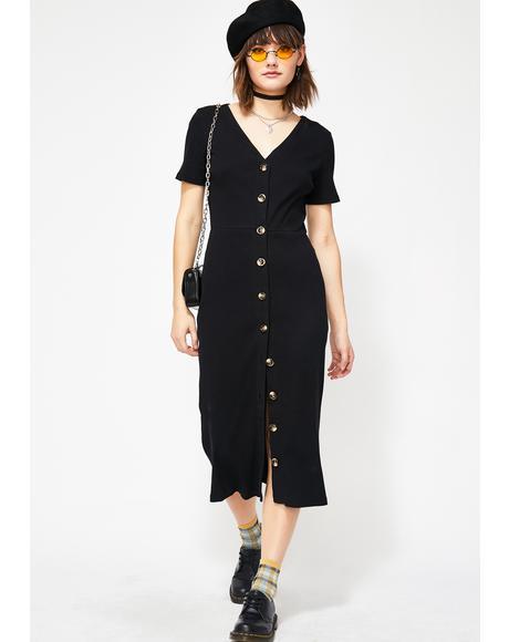 City Strollin' Midi Dress
