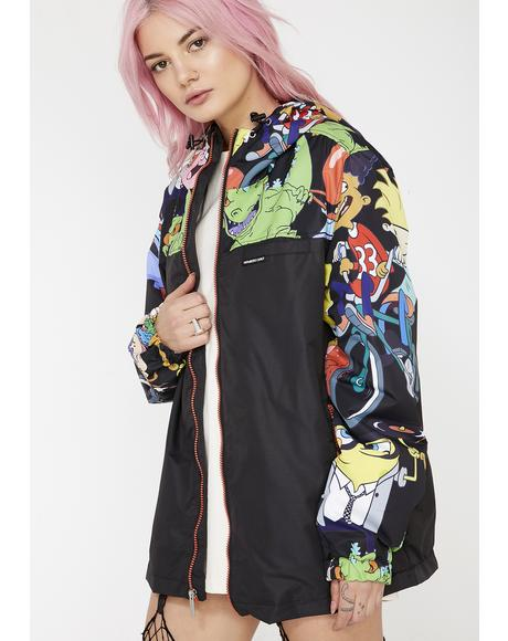 X Nickelodeon Bomber Jacket