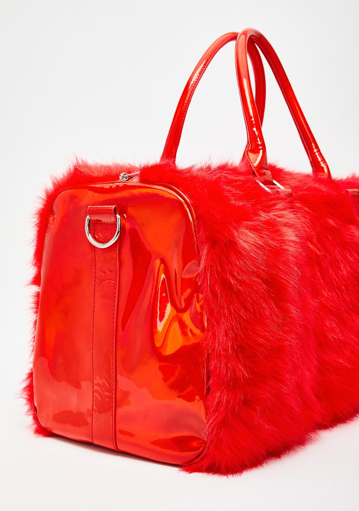 Sugar Thrillz Cupid's Fool Shagadelic Weekender Bag