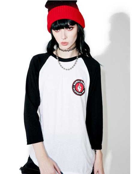 Beat It Raglan Tee
