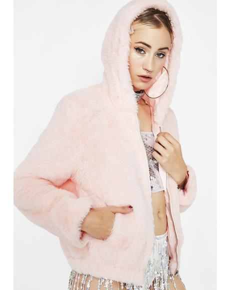 Pixie Feel Me Up Furry Jacket