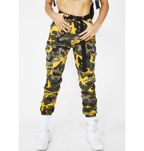 Bodak Now You See Me Cargo Pants