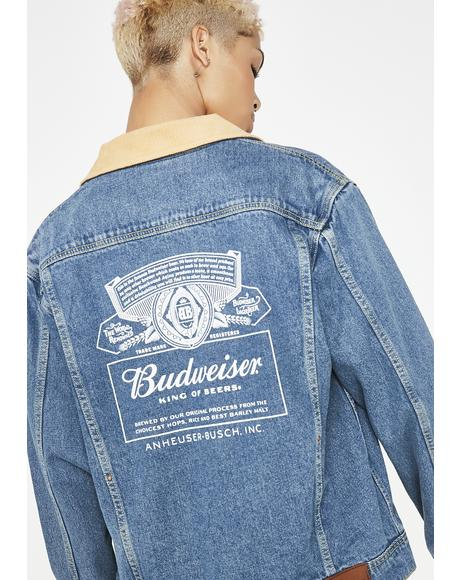 x Budweiser Denim Jacket