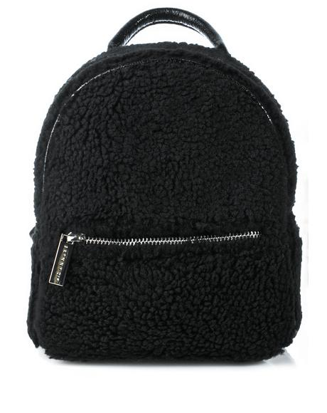 Charlie Mini Shearling Backpack
