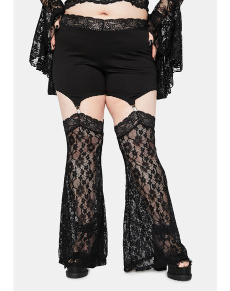 Immortal Wraiths & Ruins Garter Leggings