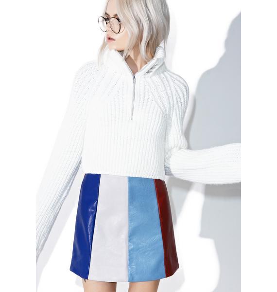 Mod-ern Girl Mini Skirt