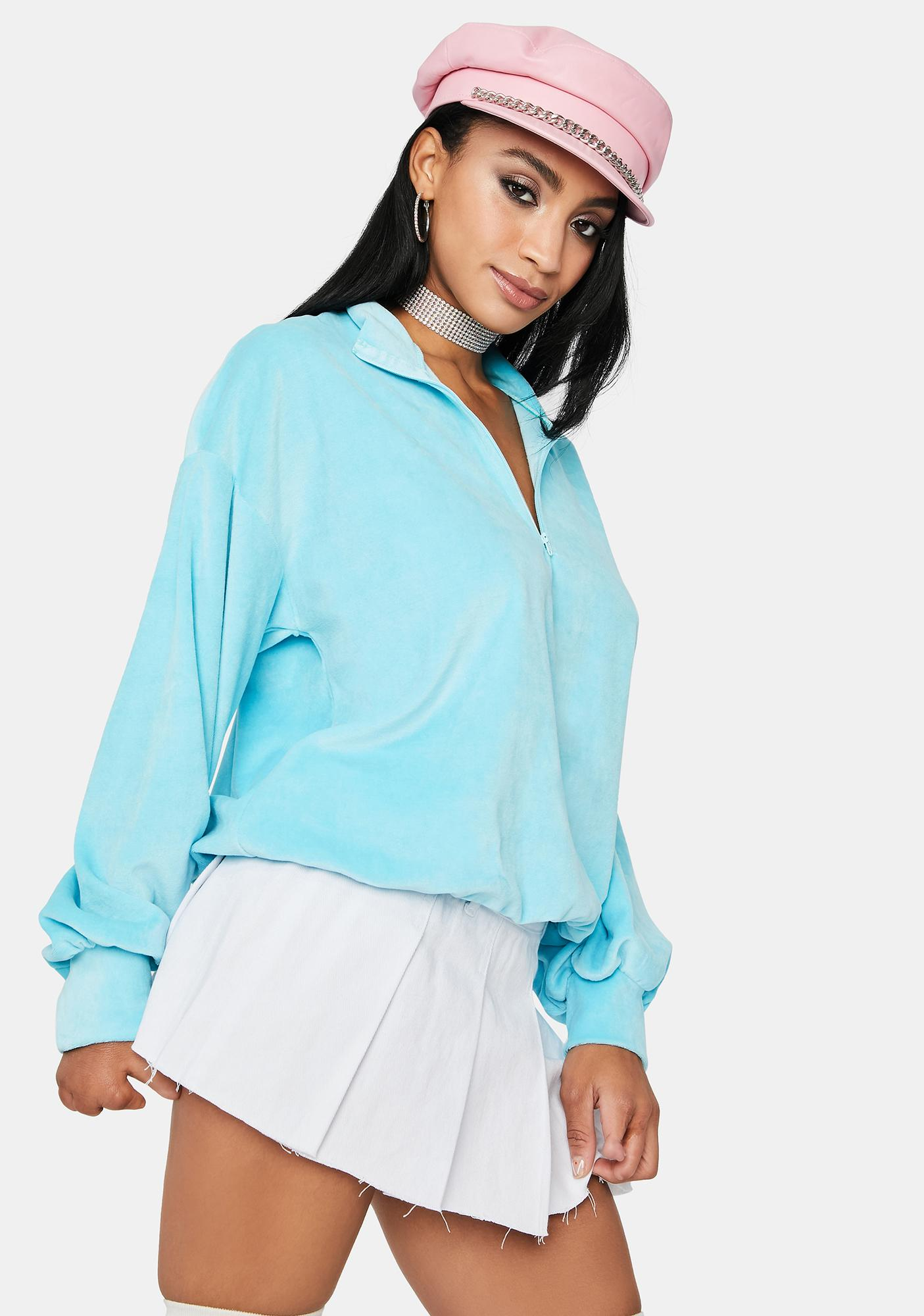 Out Of The Blue Pullover Sweatshirt