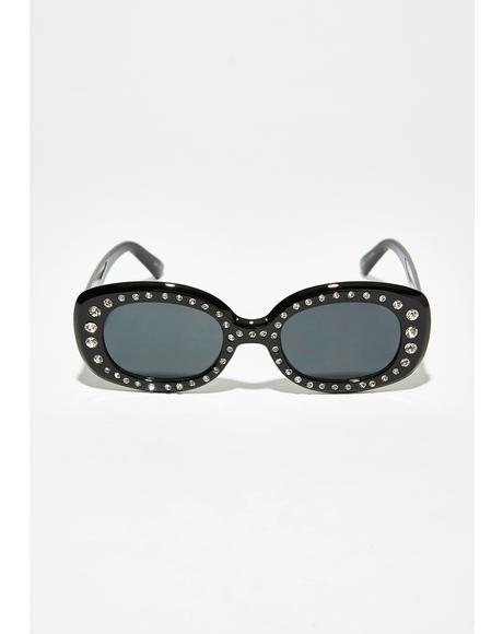 Ice Up Rhinestone Sunglasses
