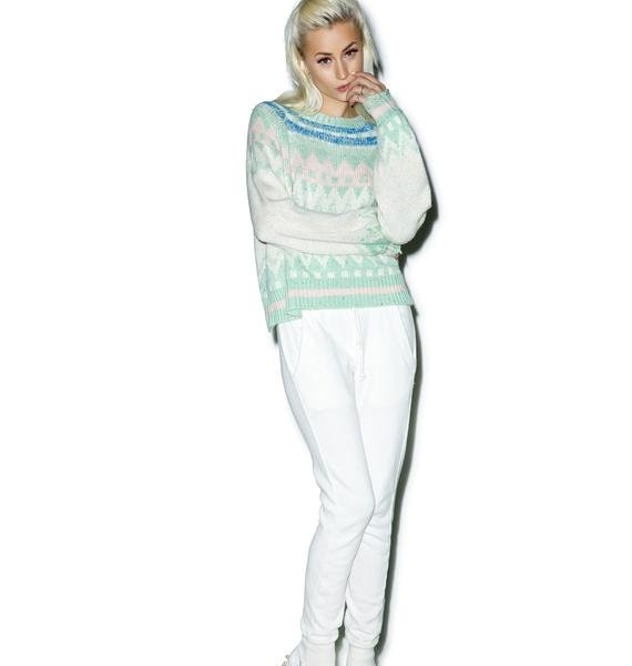 Wildfox Couture Fairisle Fancy Tate Sweater