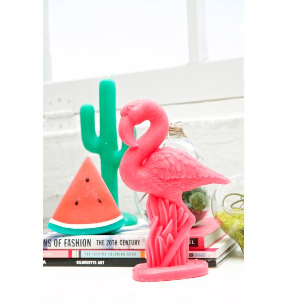 Flamingo Fancy Candle