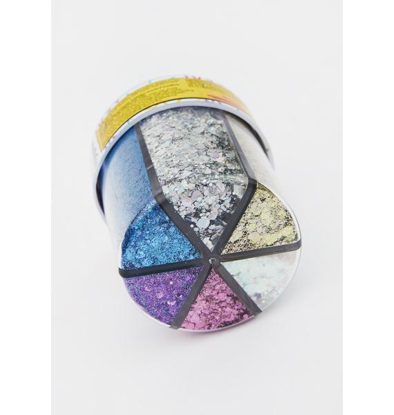 Go Get Glitter Six Color Glitter Shaker