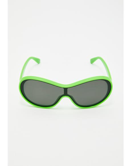 Gravity Rush Shield Sunglasses