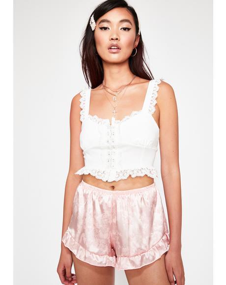 Sweet Serenity Jacquard Shorts