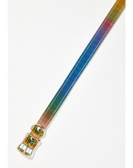 Prisma Glam Rainbow Choker