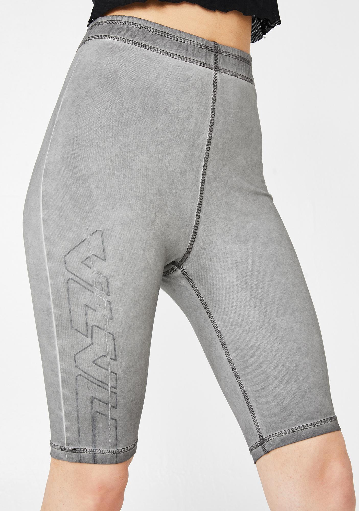 Nana Judy Noveau Logo Bike Shorts