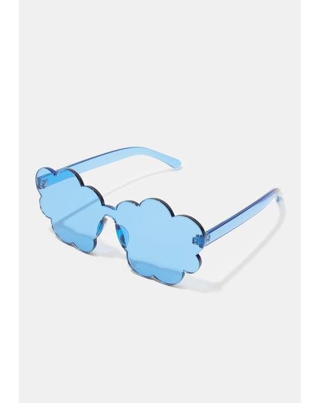 Cloud Nine Clear Sunglasses