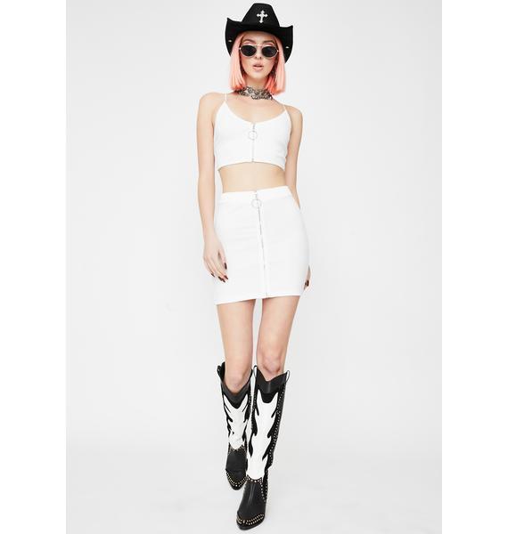 Kiki Riki Angel Waiting For You Skirt Set