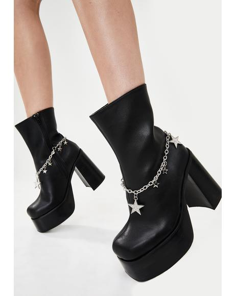 Superstar Saga Platform Boots
