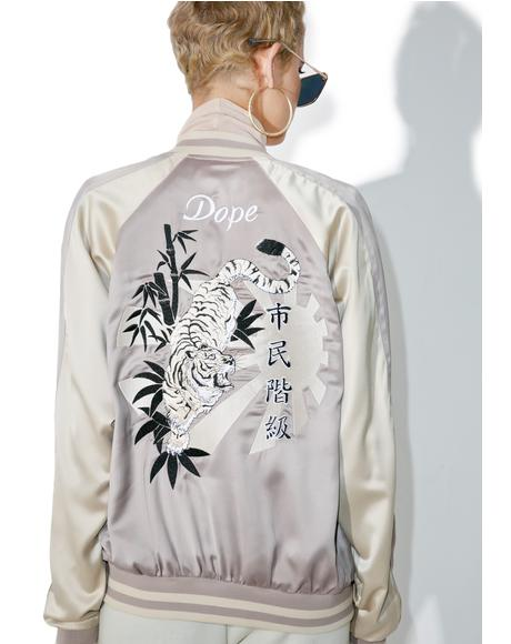 White Tiger Souvenir Jacket