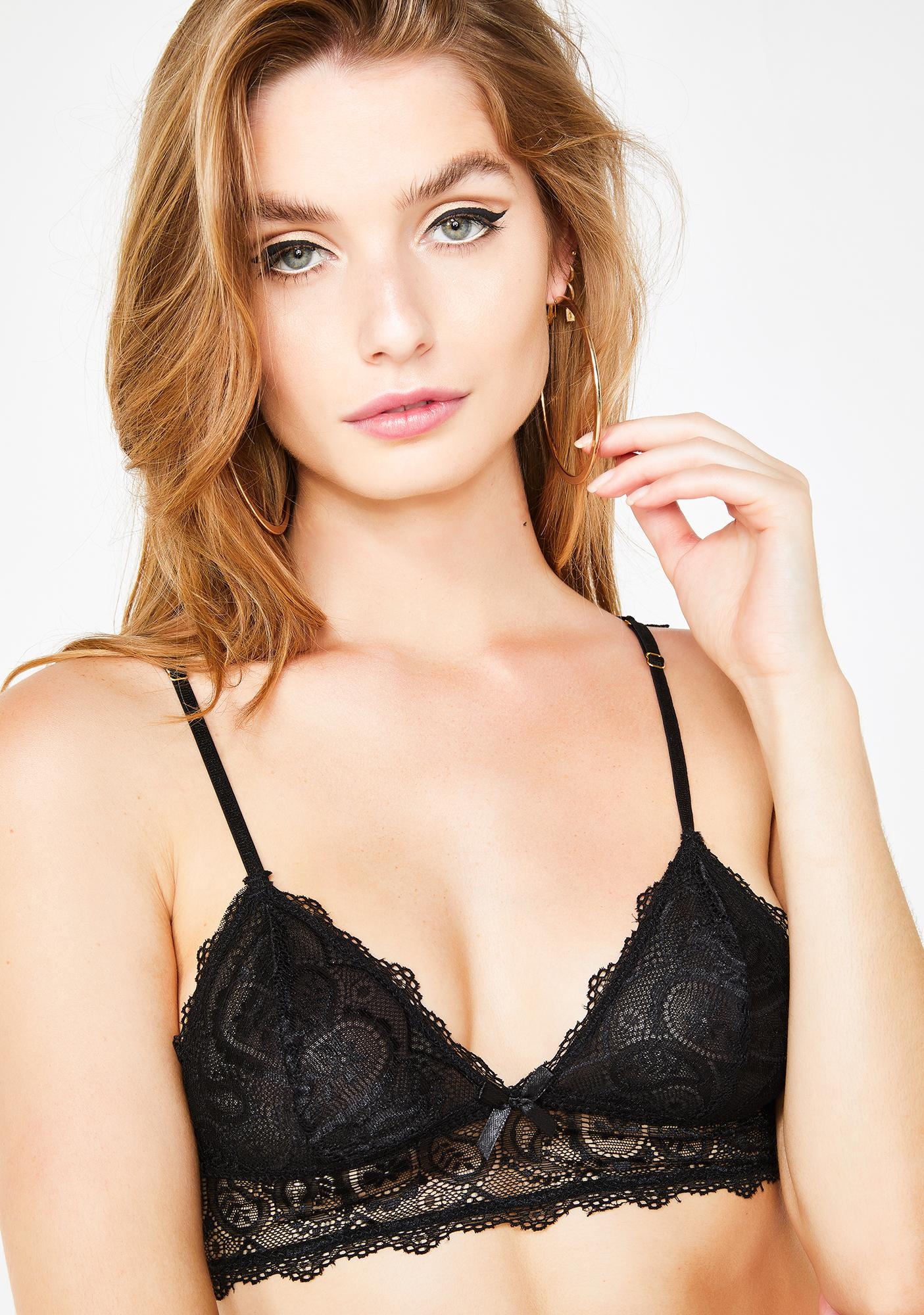 e9a03bb4f6bb4 Midnight Touch Of Envy Lace Bralette