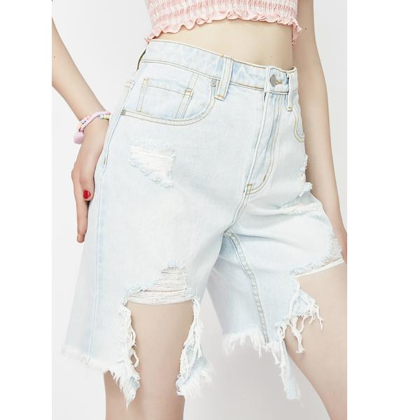 Twiin Down Town Denim Boy Shorts