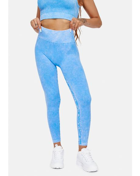Put The Werk In Vintage Wash Leggings