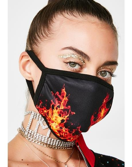 Feed The Flames Mask