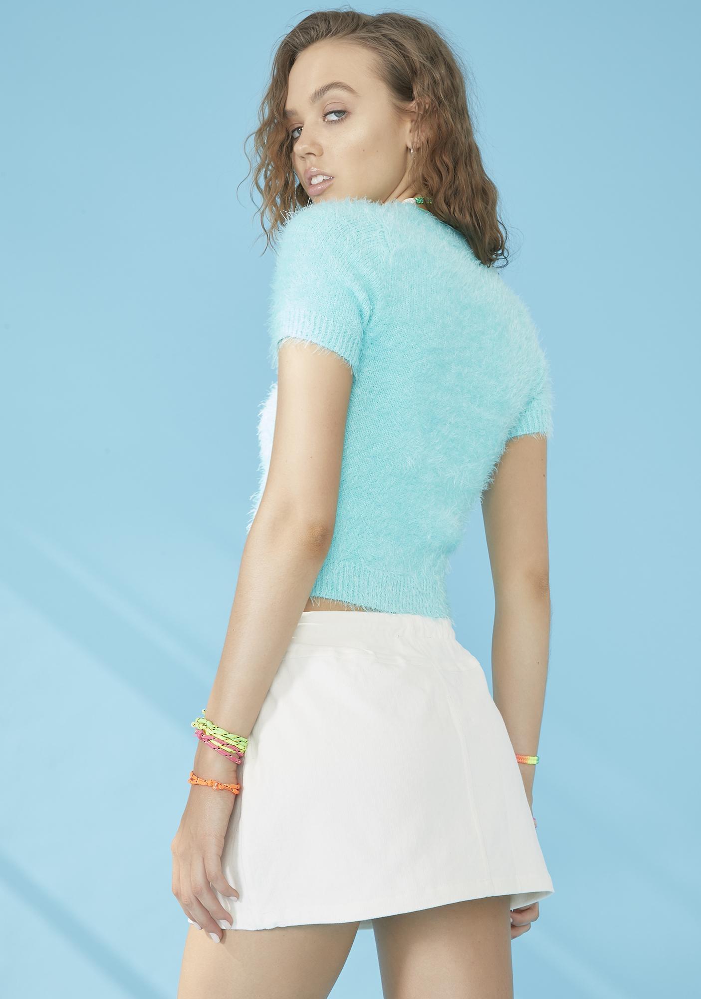 dELiA*s by Dolls Kill Ocean Air Mini Skirt