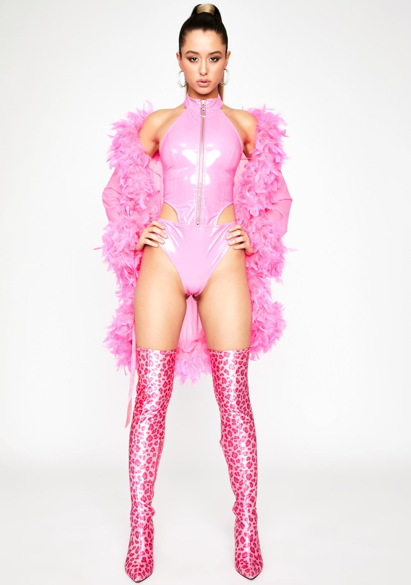 Pixie Euphoria Vinyl Bodysuit