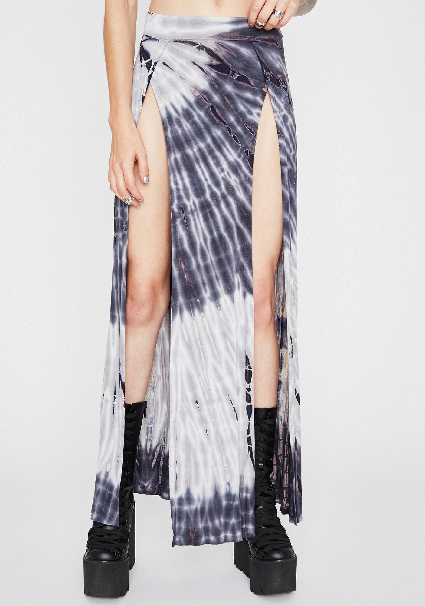 Trippin' On U Maxi Skirt