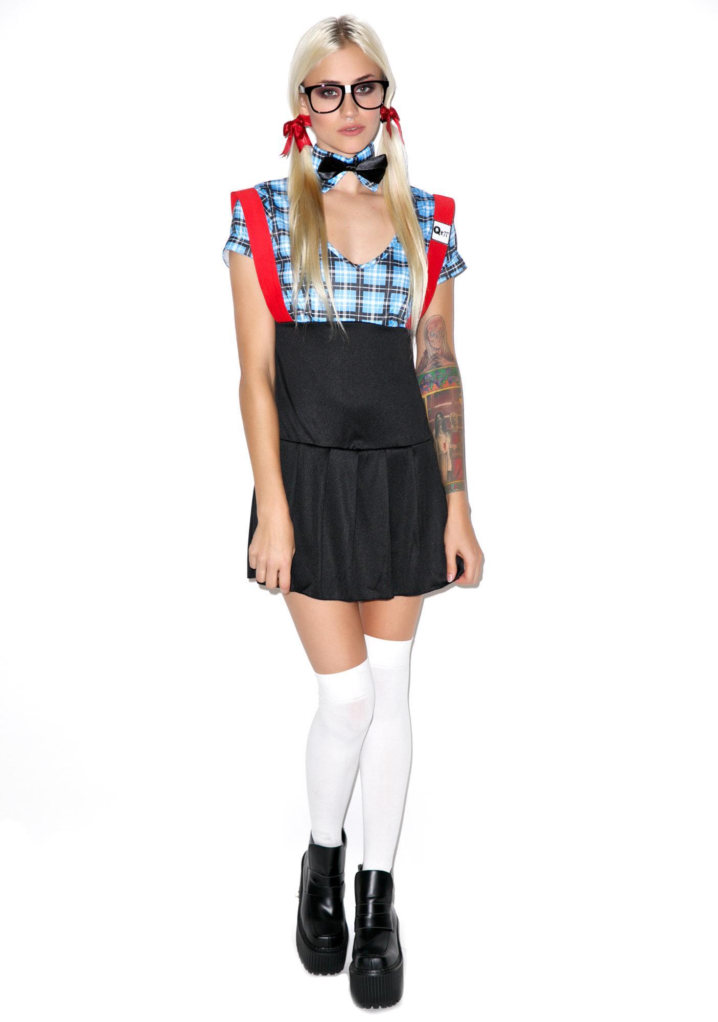 Seductive Smarty Costume Set