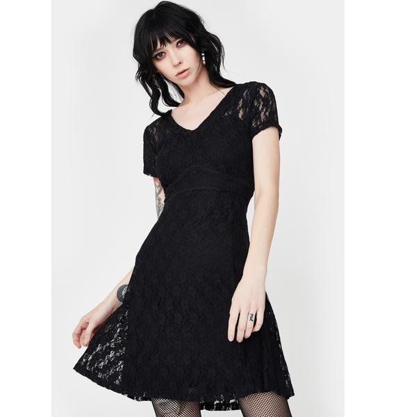 Tripp NYC Lace Overlay Dress