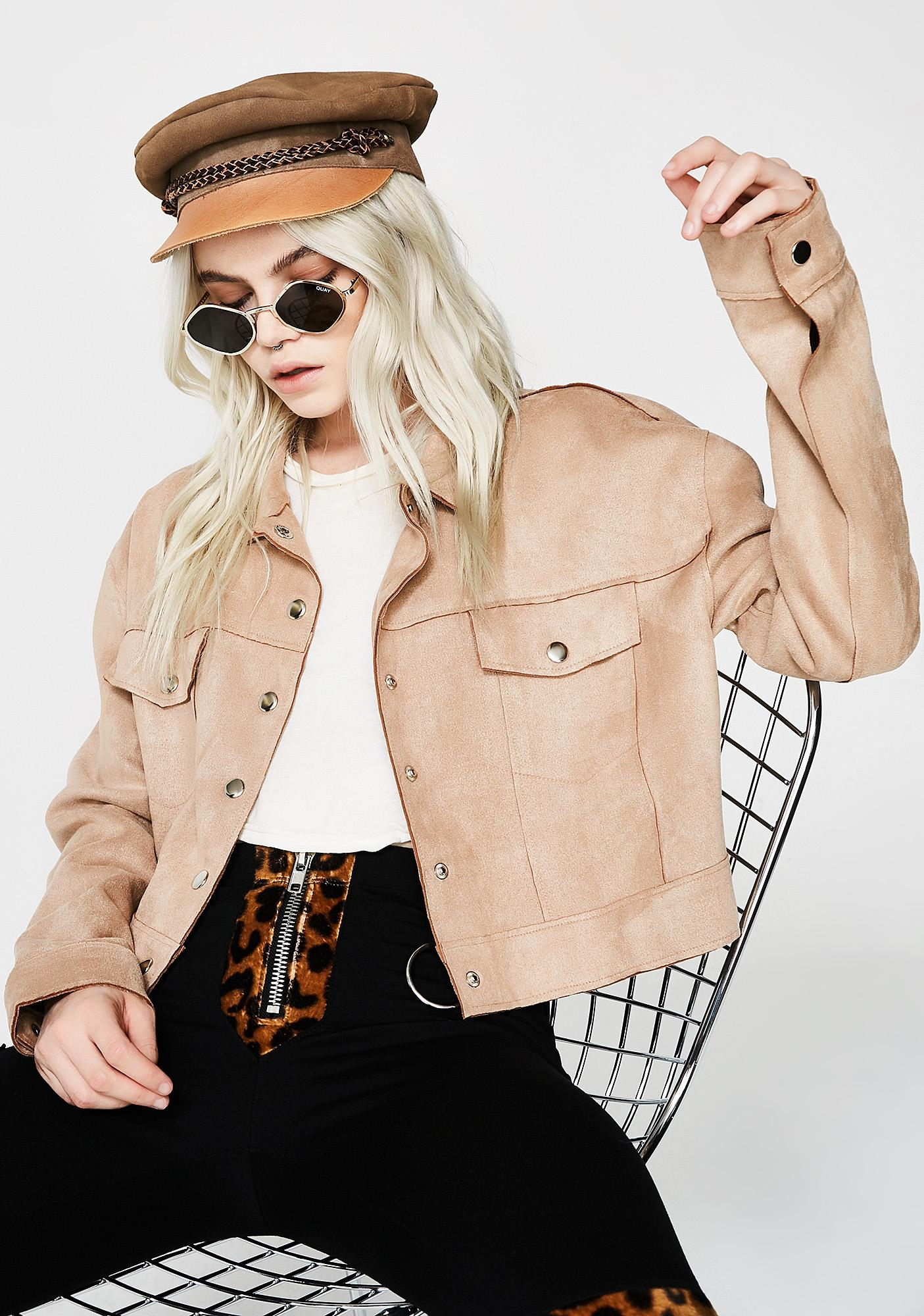 Wild Love Crop Jacket