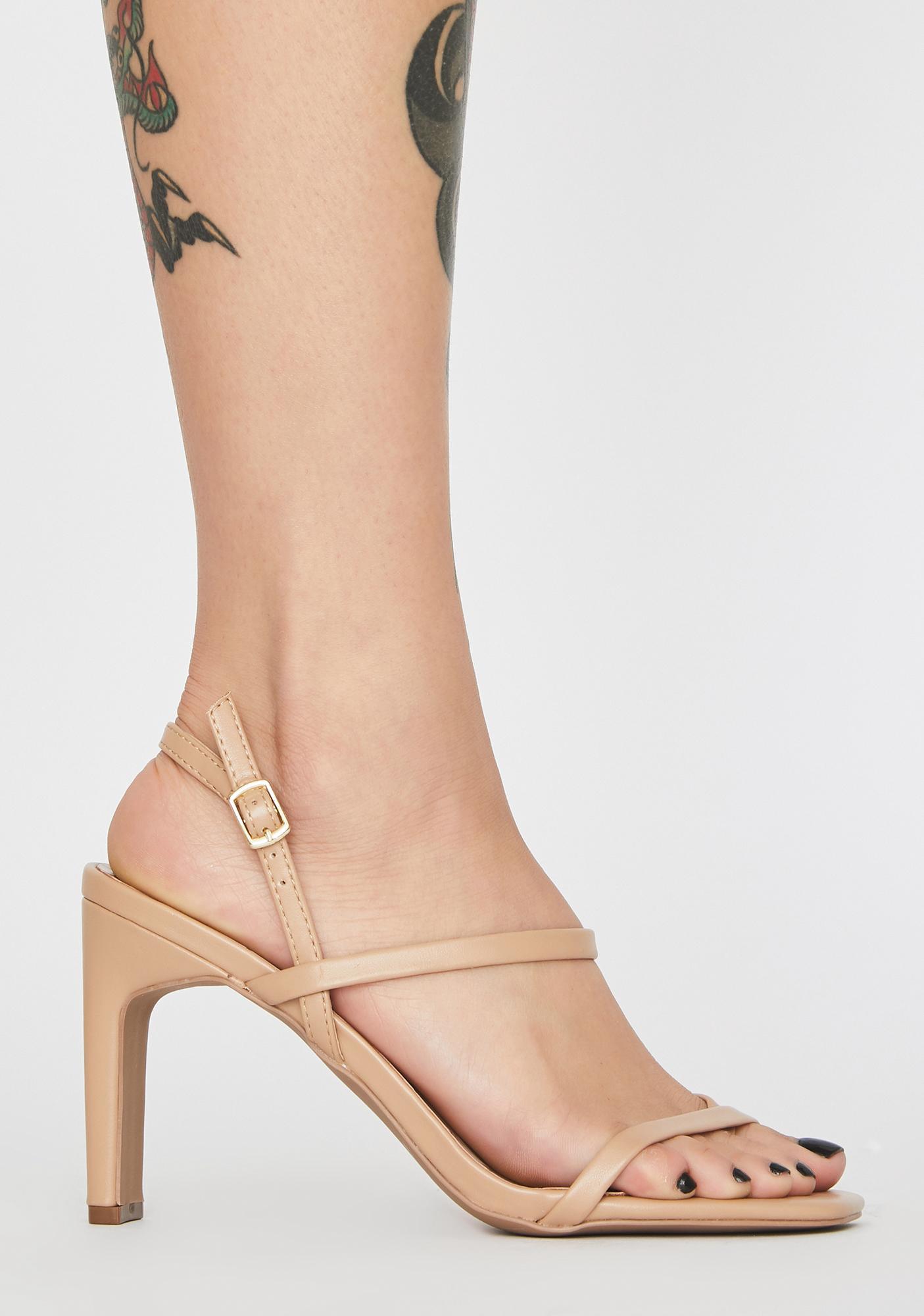 Viral Babe Strappy Heels