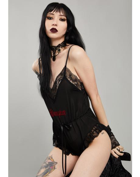 In Cold Blood Sleep Romper