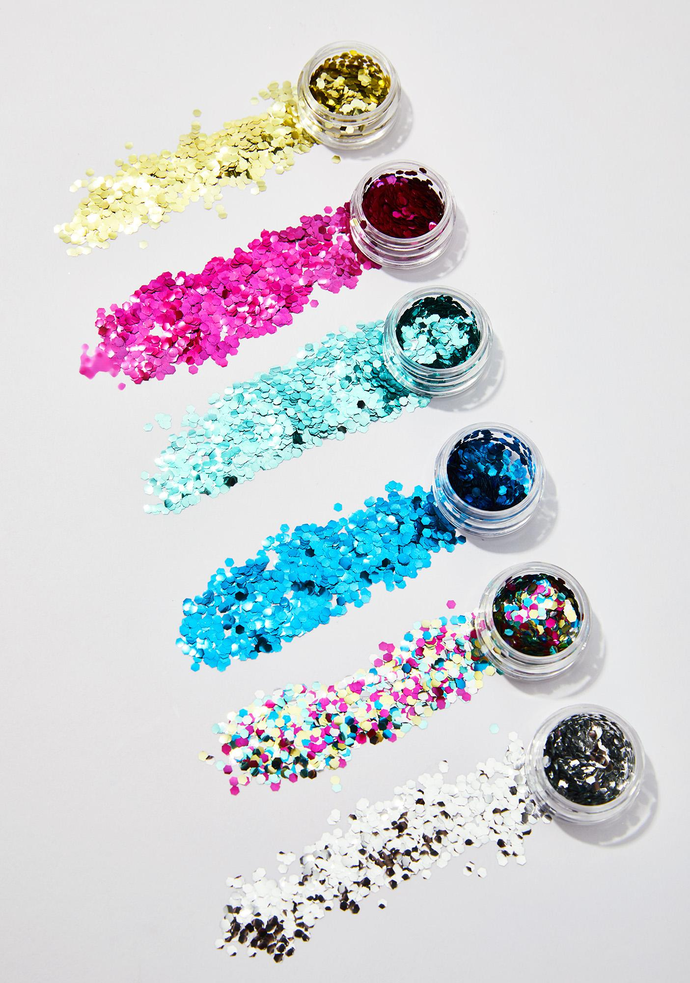 FromNicLove Tropical Cosmetic Face Glitter Set