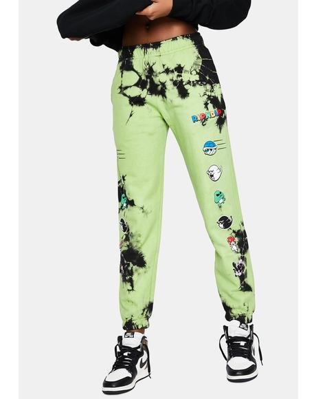Green Lightning Nermio Sweatpants