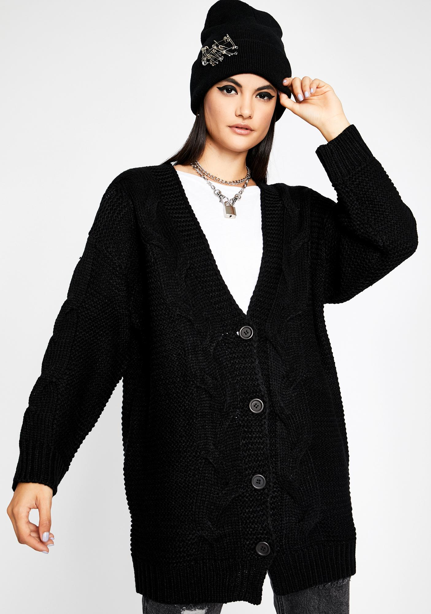 Cozy Up Oversized Cardigan