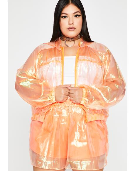 Juicy Lux Hide N' Seek Organza Set
