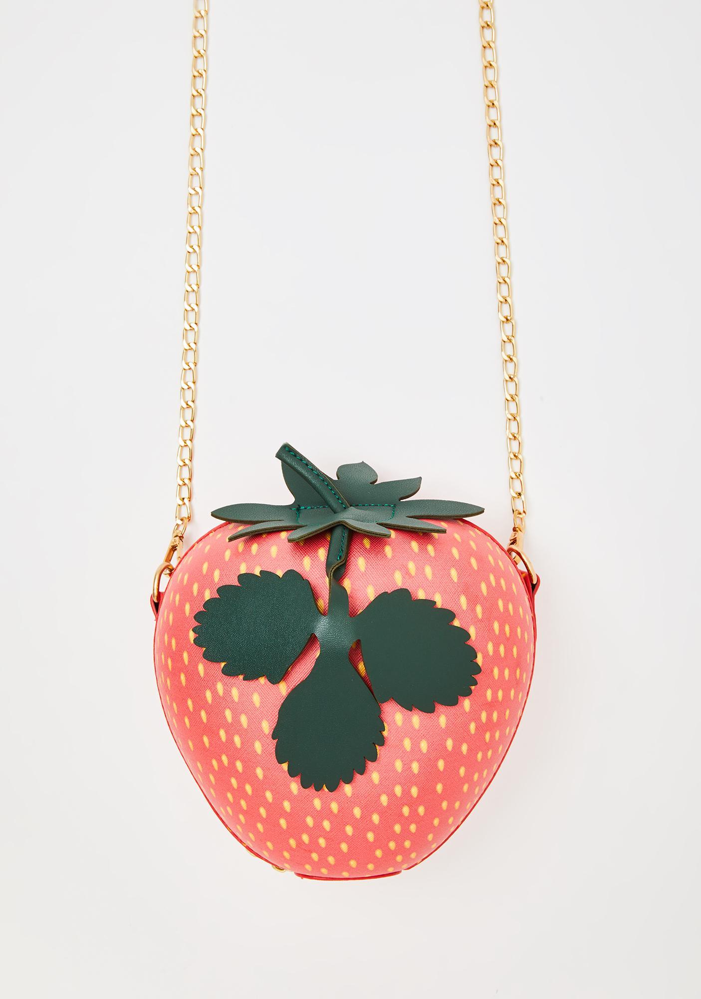 Strawberry Fields Crossbody Bag