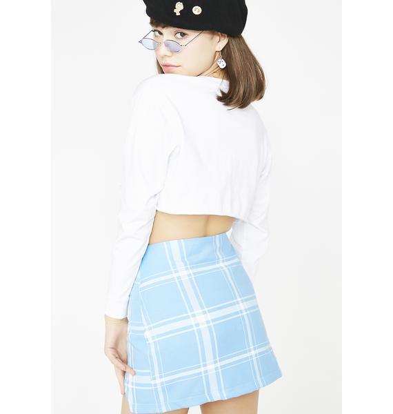 LOVE TOO TRUE Blair Split Mini Skirt