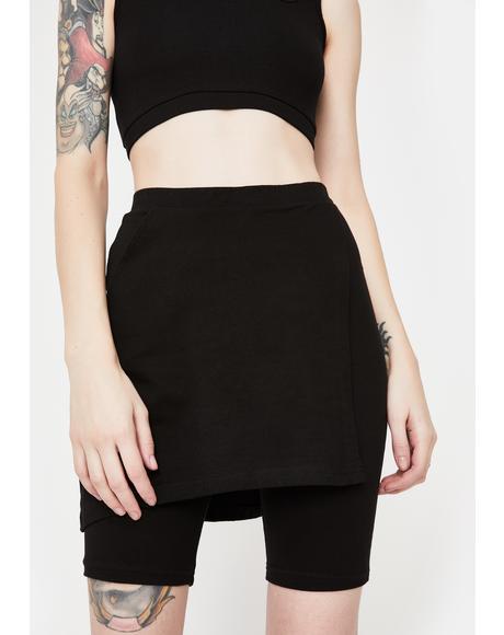 Terra Ponte Knit Shorts