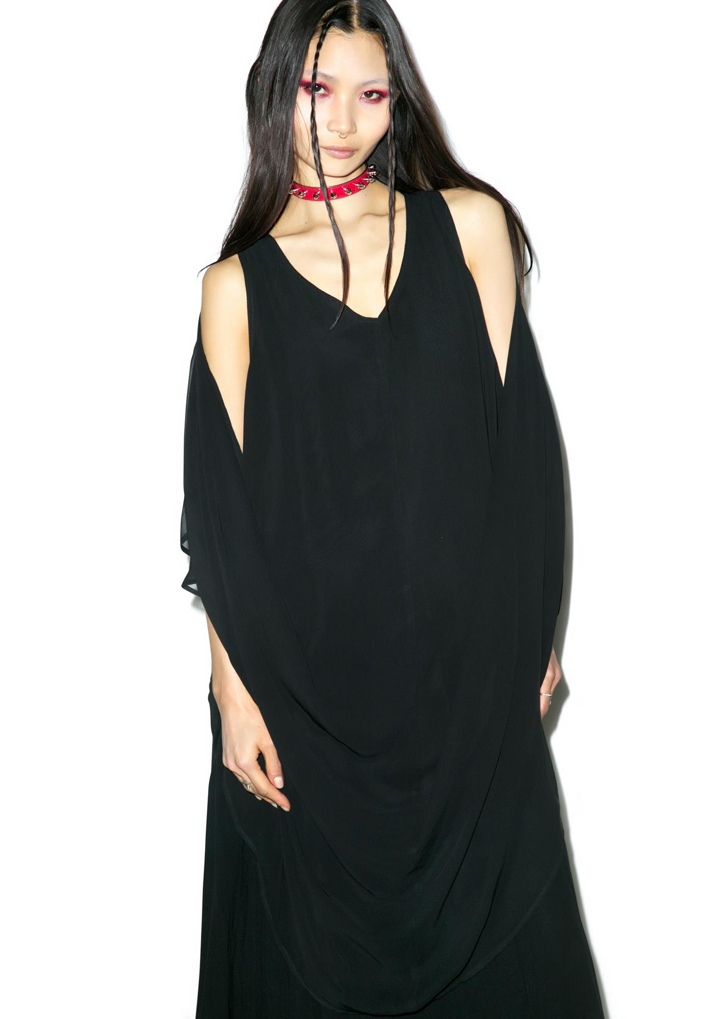 Widow Shroud Of Truth Maxi Dress