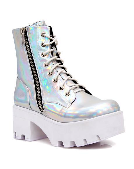 Chiller Holographic Platform Boots