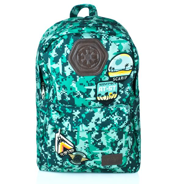 Loungefly Rebel Alliance Nylon Backpack