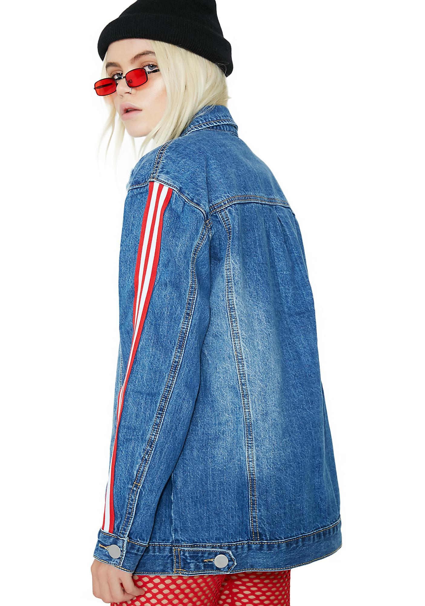 Losing Streak Denim Jacket