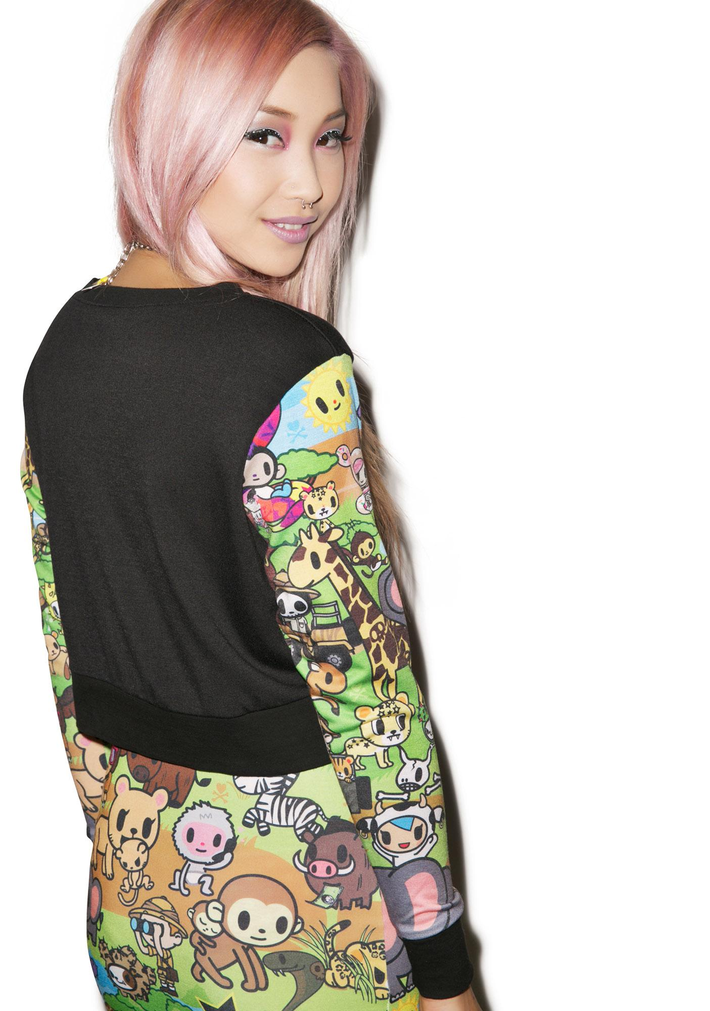 Japan L.A. Japan L.A. x Tokidoki Savannah Crop Pullover Top