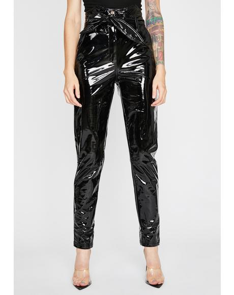 Maine Squeeze Vinyl Pants